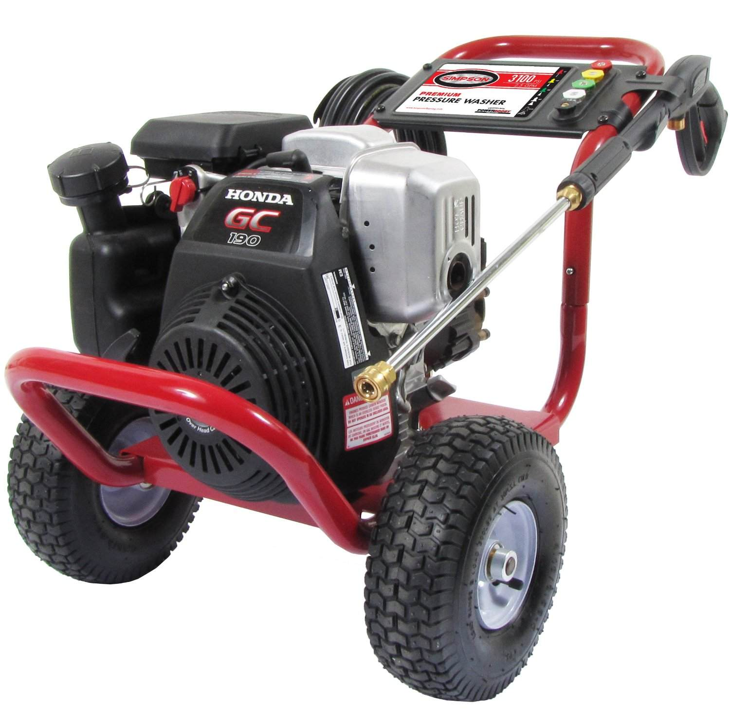 Simpson Megashot 3100 Gas Pressure Washer