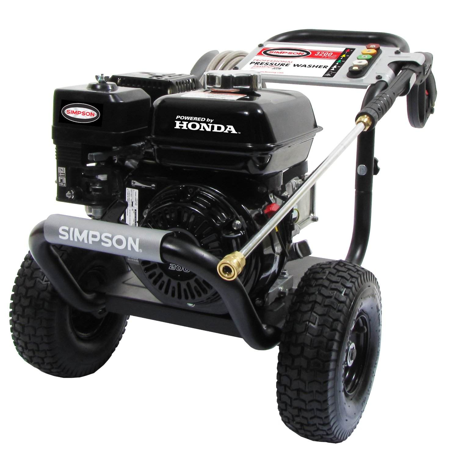 simpson powershot 3200 psi gas pressure washer