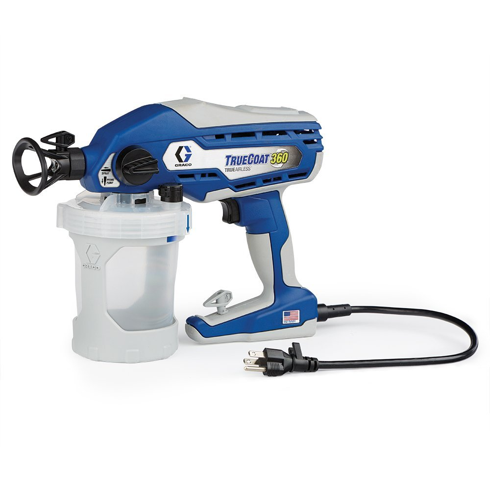 portable spraying tool by graco truecoat